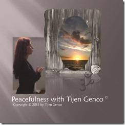 Peacefulness with Tijen Genco CD Baby Artwork Paint